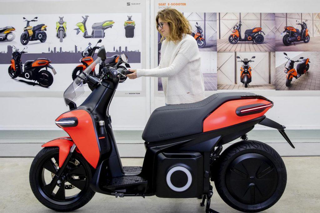 Seat entra no mundo das duas rodas com scooter elétrica já em 2020
