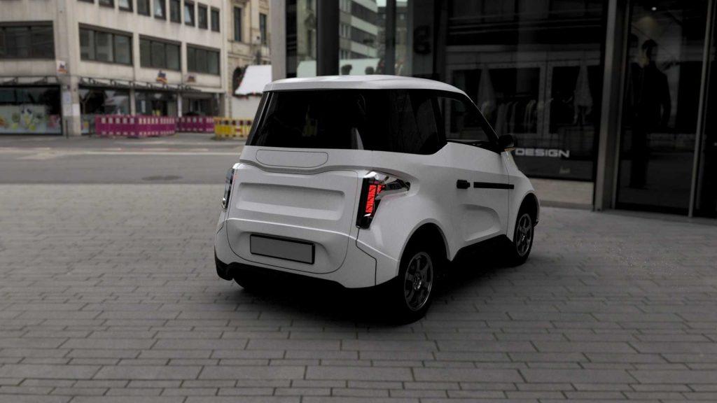 Zetta, o carro elétrico russo que custa menos de sete mil euros
