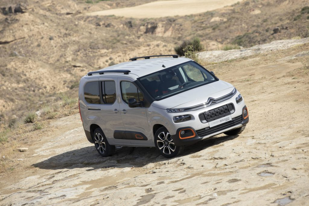 Conheça o Citroën Berlingo ideal para um fim de semana de campismo