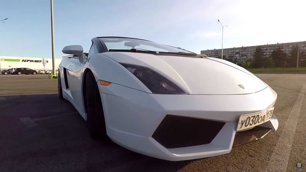 Esta Lamborghini Gallardo já foi um Mitsubishi Eclipse