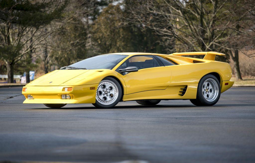 Lamborghini Diablo e outros 12 carros que fazem 30 anos em 2020