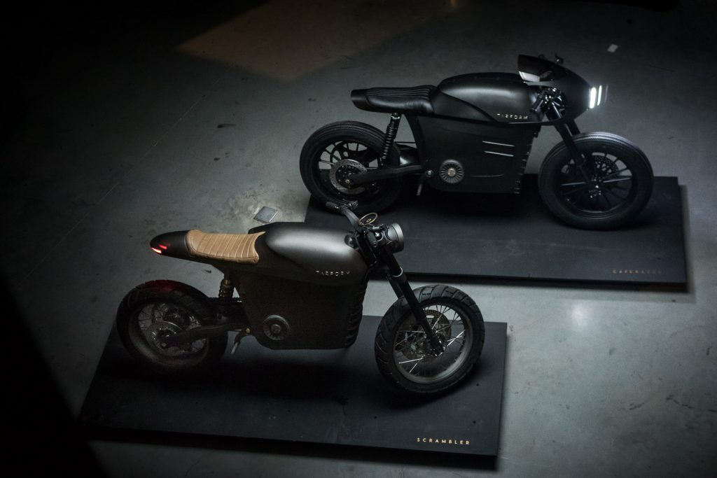 Conheça as motos elétricas que são feitas com materiais recicláveis