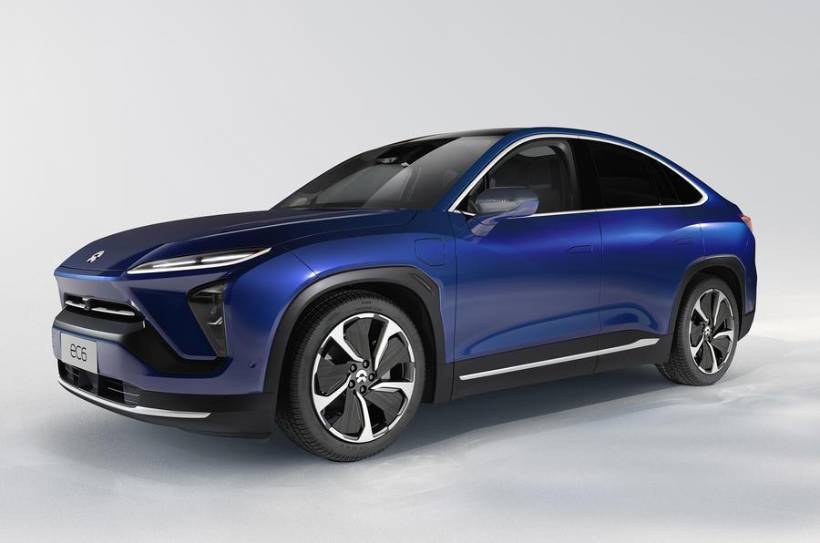 Nio EC6 é um novo SUV coupé chinês totalmente elétrico