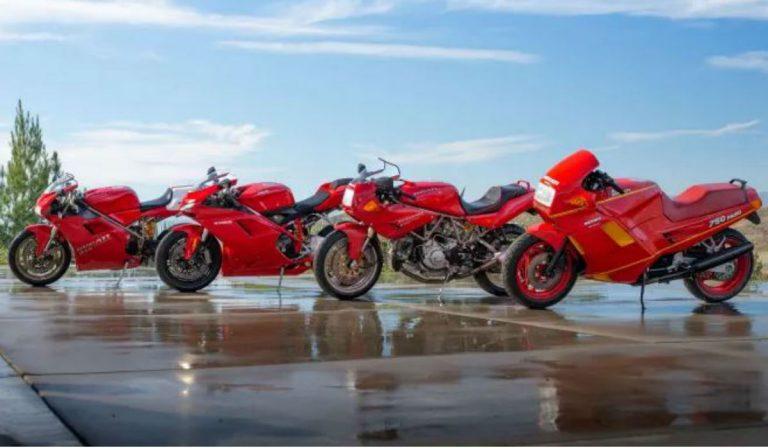 Coleção com 7 raras motos da Ducati vai a leilão