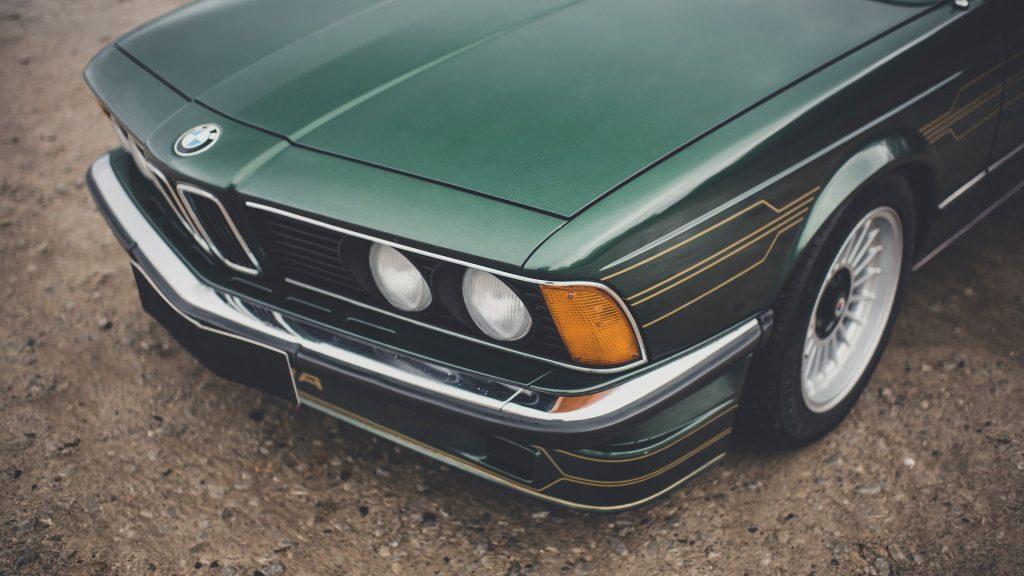 BMW Alpina B7 S Turbo, um de apenas trinta Coupé construídos vai a leilão