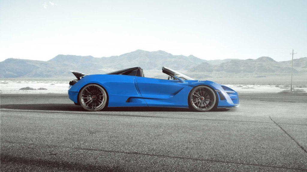 McLaren 720S Spider modificado ultrapassa a barreira dos 800 cavalos