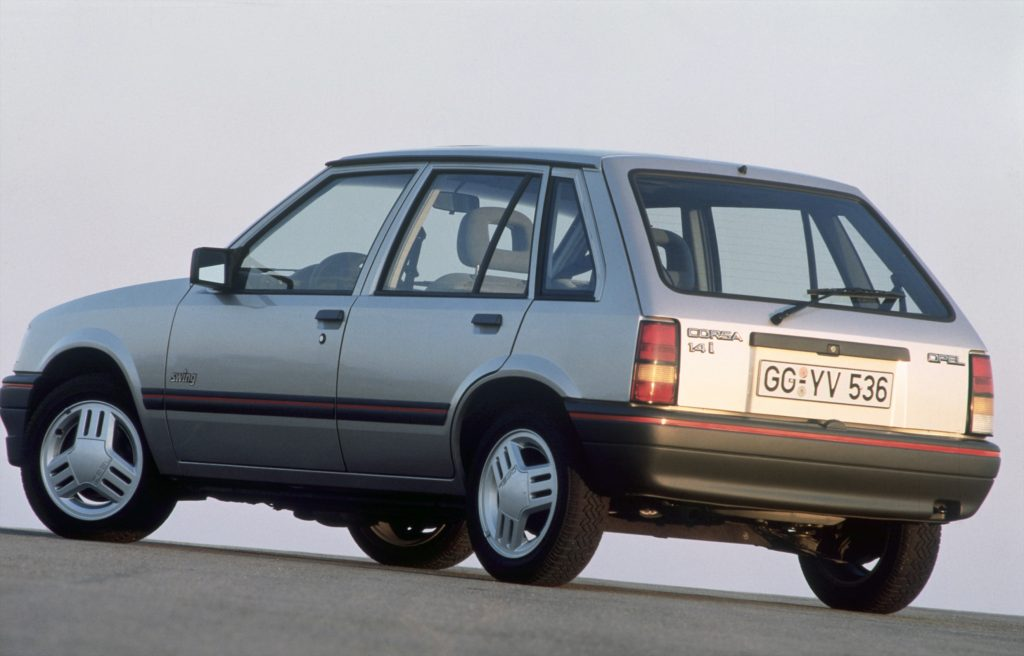 Opel Corsa A, o primeiro carro de muitos jovens dos anos 80 e 90