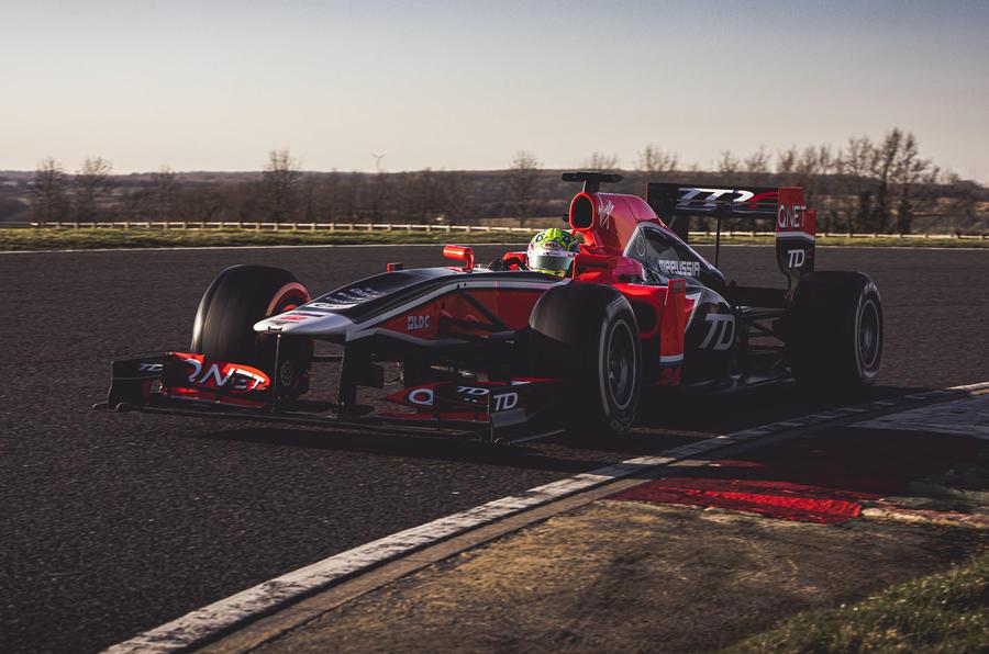 TDF-1, o monolugar de Fórmula 1 adaptado para track days