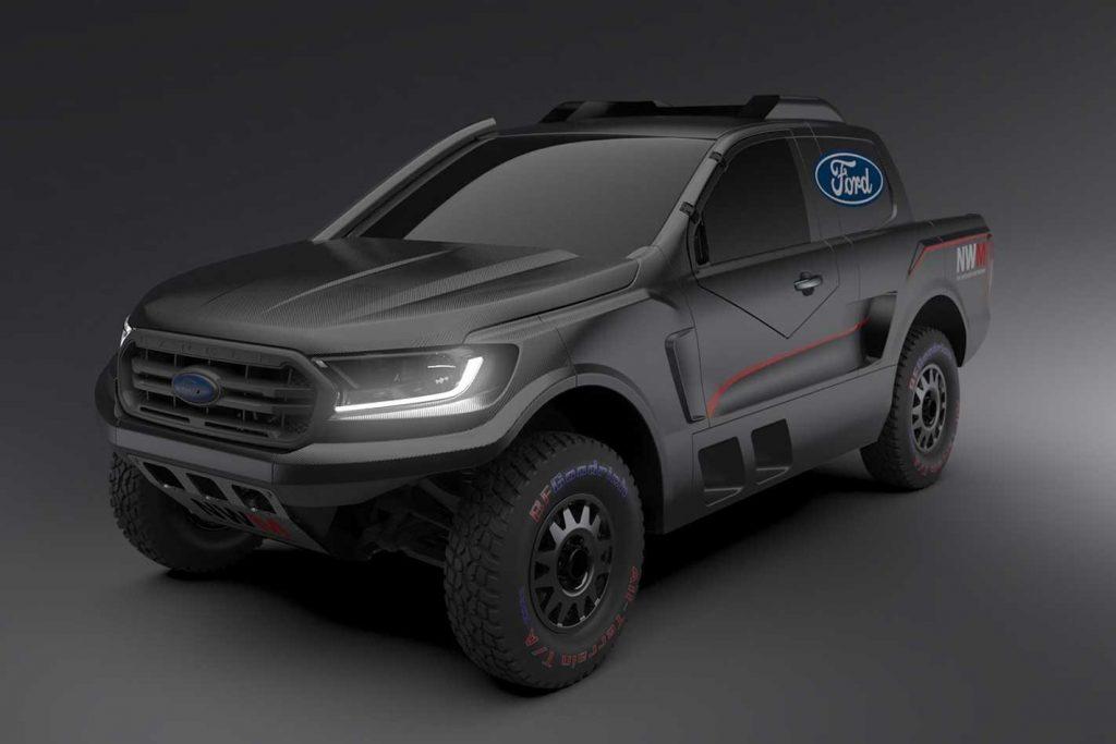 Ford cria Ranger Raptor preparada para a competição com motor V6