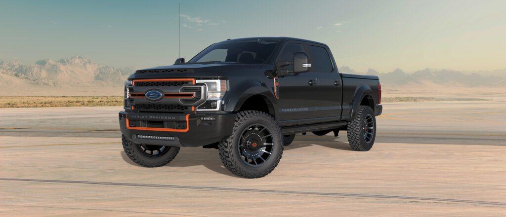 Ford e Harley-Davidson juntam-se e criam pick-up monstruosa