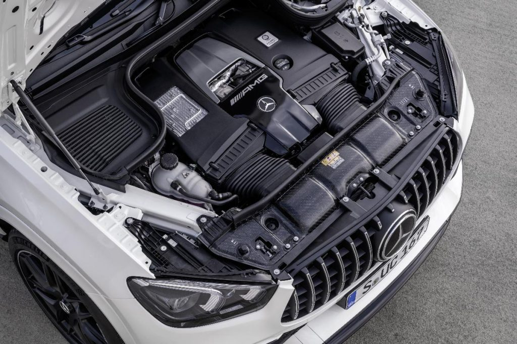 Mercedes-AMG GLE 63 Coupé, o SUV desportivo com motorização híbrida