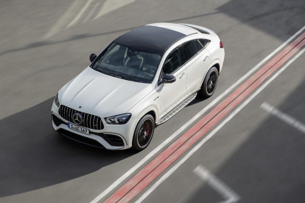 Mercedes-AMG GLE 63 Coupé, o SUV desportivo com motorização híbridaMercedes-AMG GLE 63 Coupé, o SUV desportivo com motorização híbrida