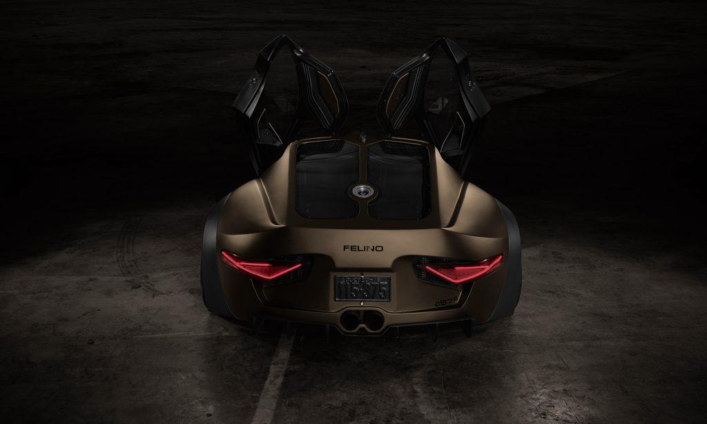 O supercarro Felino CB7R tem como principais características o baixo peso e o motor atmosférico. O preço pode ser superior a meio milhão de euros.