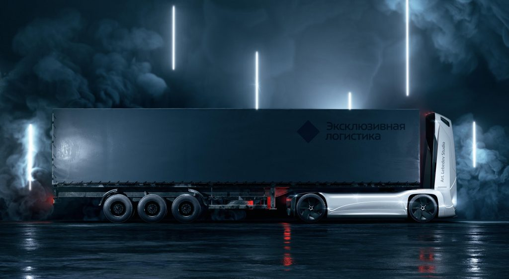 Gruzovikus, o camião elétrico que não precisa de condutor