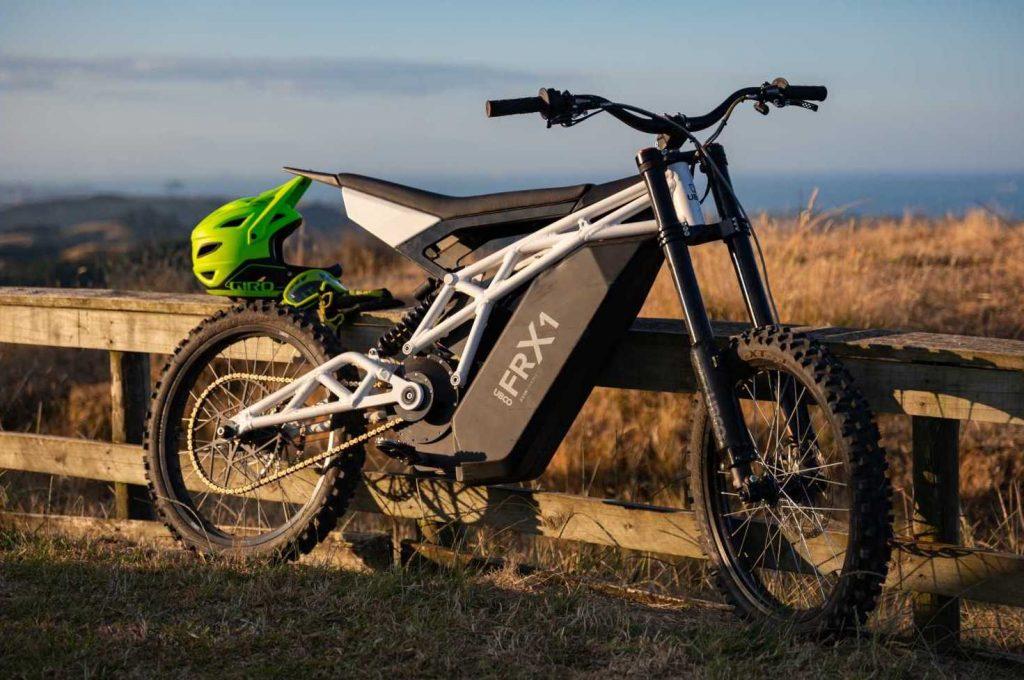 Ubco FRX1, a moto elétrica radical para aventuras nas montanhas