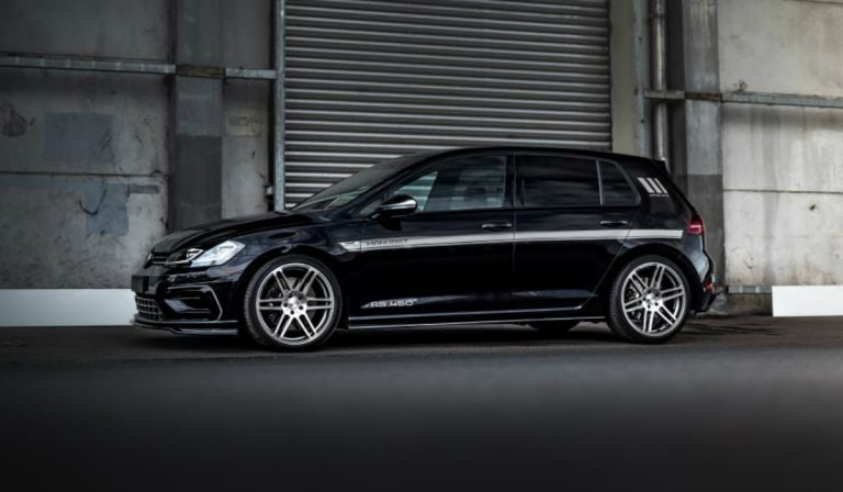 Este Volkswagen Golf R modificado tem mais potência que um Audi RS3