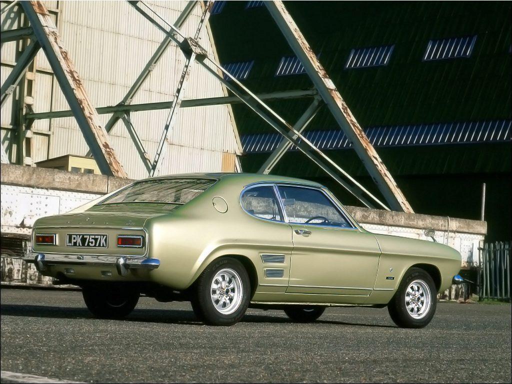 Ford Capri, um dos preferidos dos amantes de carros clássicos