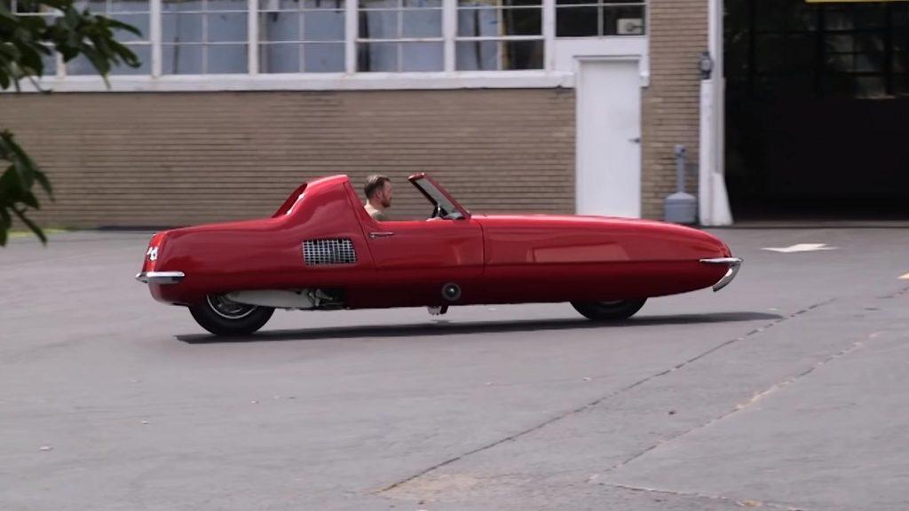 Gyro-X, o carro com duas rodas dos anos 60 que queria ser o futuro