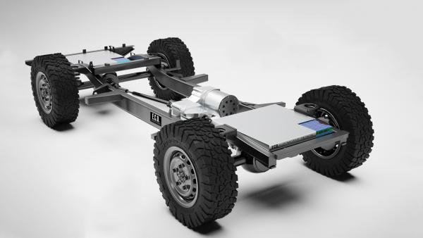 Preparadora vai construir Land Rover Defender elétrico com motor da Tesla