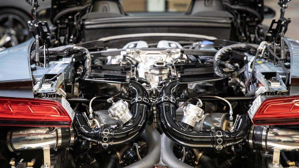 Hennessey criou Audi R8 mais radical do mundo com 925 cavalos