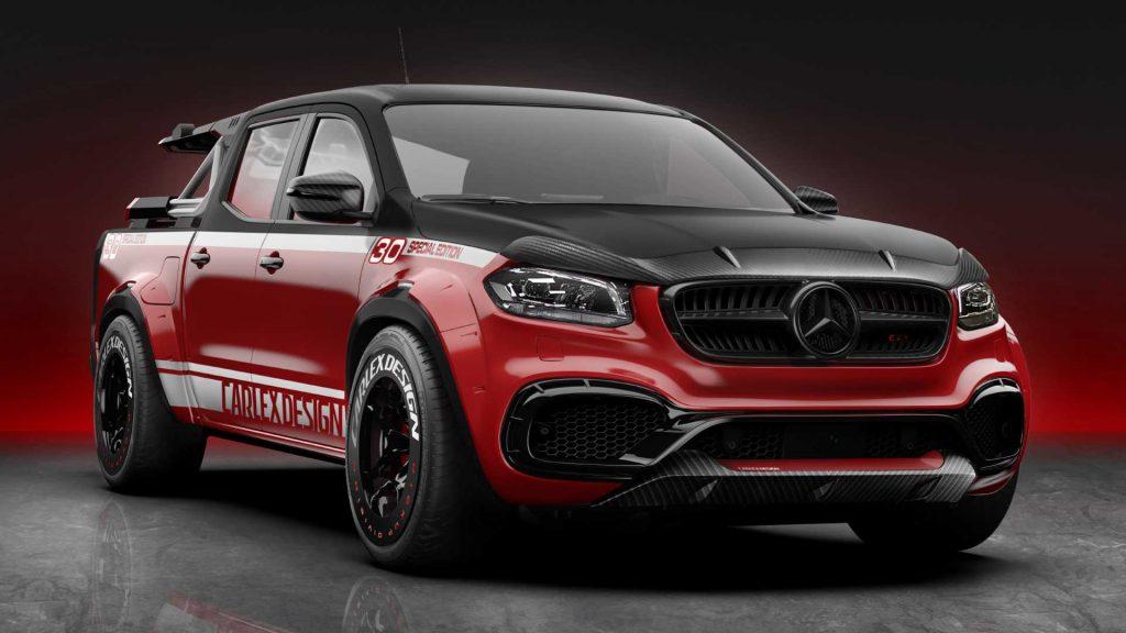 Mercedes-Benz Classe X modificada pela Carlex a pensar nos ciclistas