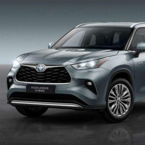 Toyota Highlander, o novo SUV híbrido da marca que vem para Portugal
