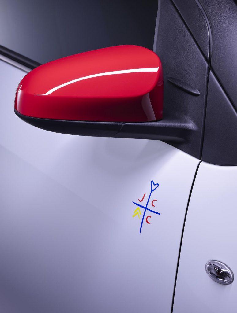 Citroën C1 JCC+, a edição especial personalizada por designer francês