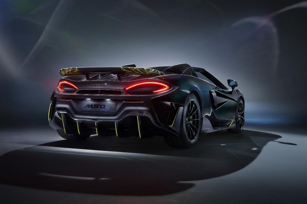McLaren cria edição especial do 600LT inspirada em aranha venenosa