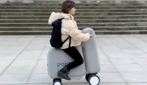 Esta inovadora bicicleta elétrica insuflável quer ser o futuro das cidades