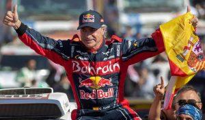 Carlos Sainz eleito o melhor piloto da história