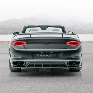 Este Bentley Continental GT Cabrio da Mansory recebe visual agressivo