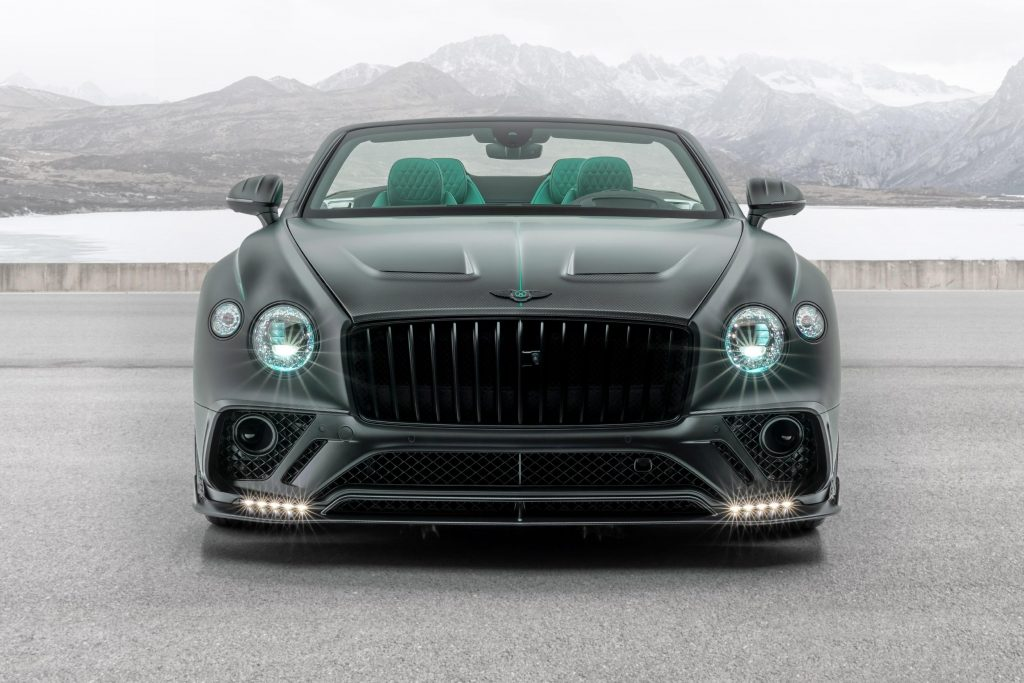 Este Bentley Continental Gt Cabrio Da Mansory Recebe Visual Agressivo