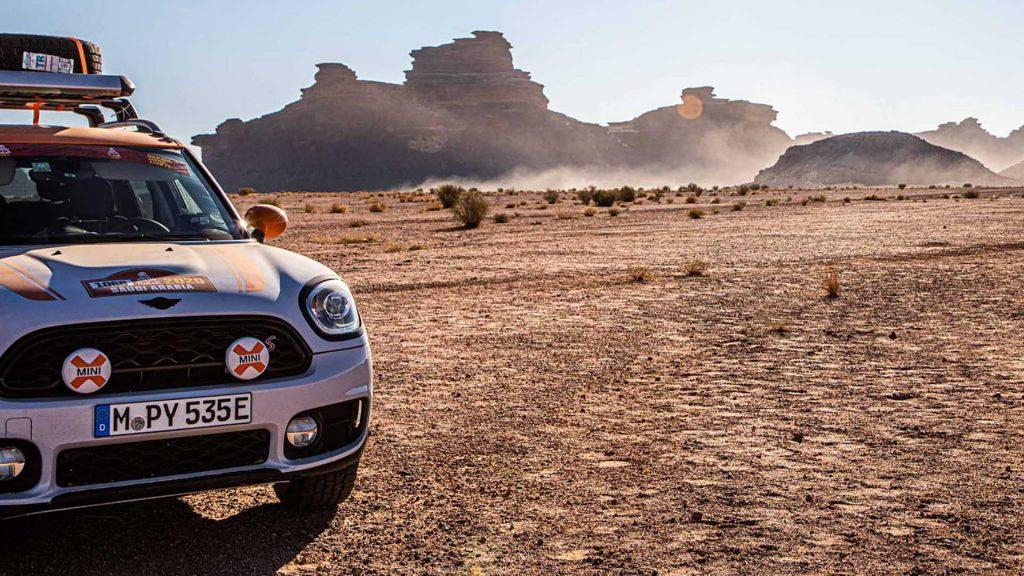 Mini Countryman recebe tratamento todo-o-terreno com cunho do Dakar