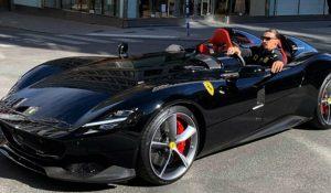 Passeio de Zlatan Ibrahimovic em Ferrari Monza SP2 pode dar em multa