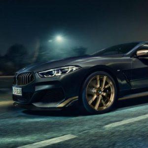 BMW Série 8 ganha edição especial recheada de dourado