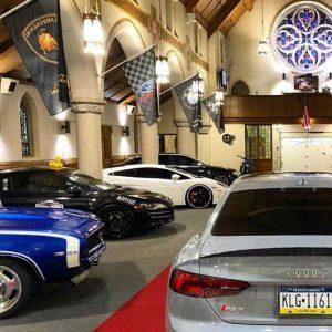 Holy Grail Garage, a igreja que se tornou num templo de automóveis