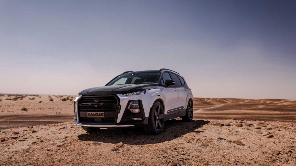 Hyundai Santa Fe ganha visual radical com esta modificação