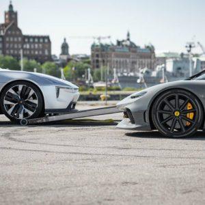 As marcas suecas Koenigsegg e Polestar anunciam parceria