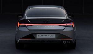 Elantra N-Line, o sedan desportivo da Hyundai que se destaca pelo design