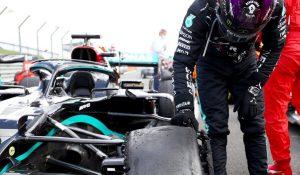 Uma vitória, um furo e mais dois recordes para Lewis Hamilton