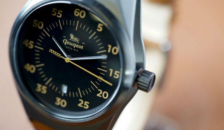 Peugeot assina 3 novos relógios de design intemporal