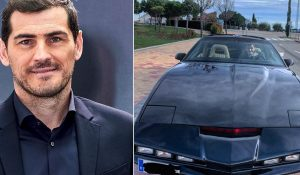Iker Casillas aumentou a sua garagem com uma réplica do KITT