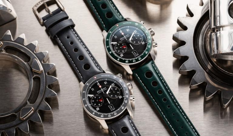 Ao comprar um relógio da Bremont poderá conduzir um Jaguar clássico