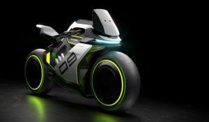Segway Apex H2, a mota futurista que alia mobilidade elétrica e hidrogénio