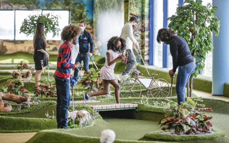 Sintra Minigolf: campo indoor de minigolfe inédito em Portugal