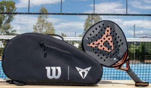 Cupra junta-se à Wilson e lança raquete de padel personalizada