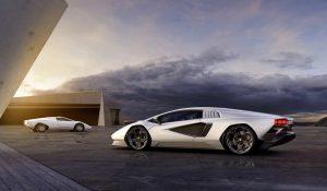 Lamborghini Countach ganha versão híbrida que bate os 355km/h
